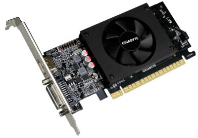 Відеокарта GigaByte GeForce GT 710 1GB GDDR5 64bit Low Profile