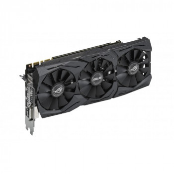 Видеокарта Asus Geforce Pci-Ex Gtx 1070 Rog Strix 8Gb 256Bit Gddr5 (1632/8000) (Dvi, 2 X Hdmi, 2 X Displayport) (Strix-Gtx1070-O8G-Gaming)