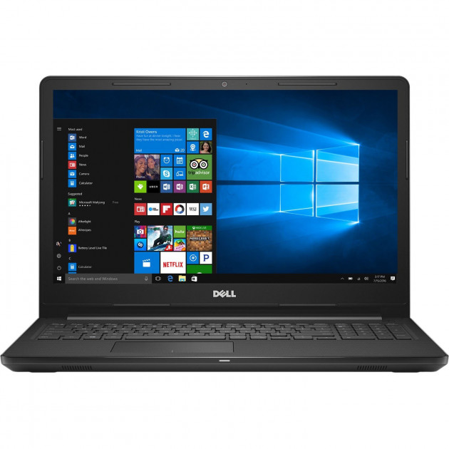 Ноутбук Dell Inspiron 15 3567-Intel Core i3-7020-2.30GHz-16Gb-DDR4-128Gb-SSD-W15.6-(B)- Б/В - зображення 1