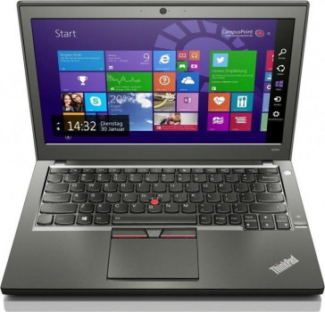 Ноутбук Lenovo ThinkPad X250-Intel-Core-i5-5200U-2,2GHz-8Gb-DDR3-500Gb-HDD-W12.5-IPS-Web+батерея-(B)- Б/В
