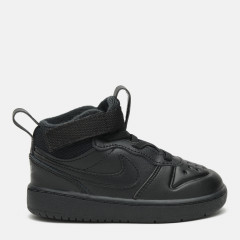Кеди Nike Court Borough Mid 2 Boot Bt BQ5445-001 24 (9C) 15 см Чорні (193146229838)