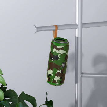 Портативна Bluetooth-колонка Hoco BS38 Cool freedom sports wireless speaker Camouflage Green