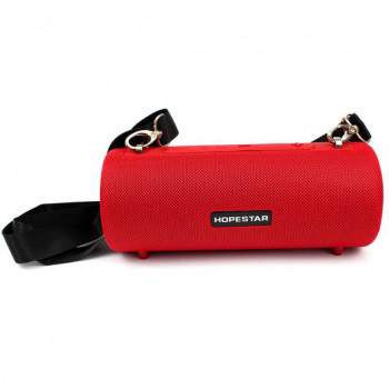 Потужна портативна акустична bluetooth колонка Sound System H39 Pro Hopestar Original Red (HPH39R)