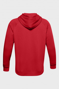 Чоловіче червоне худі UA Rival Fleece Big Logo HD Under Armour 1357093-608