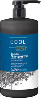 Гель-шампунь Cool Men Detox Carbon 1000 мл (4823015942129)