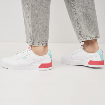 Кеди Puma Carina L Jr 37067723 White-Sun Kissed Coral