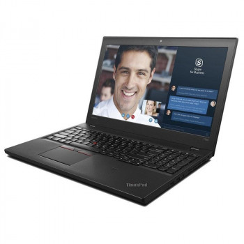 Ноутбук Lenovo ThinkPad T560-Intel Core i5-6300U-2,4GHz-4Gb-DDR3-128Gb-SSD-W15,6-IPS-FHD- Web-(B)- Б/В