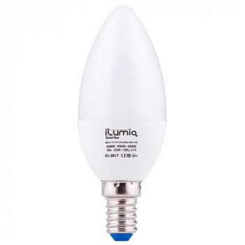 LED лампа Ilumia 5W Е27 C37 3000-6000К все цвета 500Lm (064)