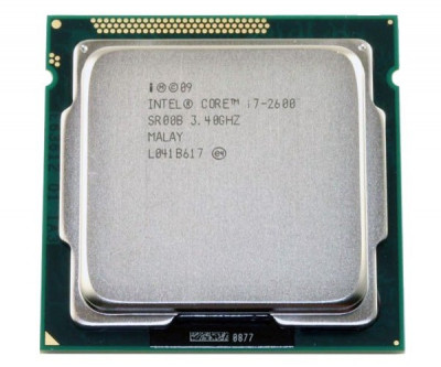 Процесор Intel Core i7-2600 3.40 GHz/8MB/5GT/s Б/у