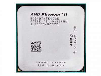 Процессор AMD Phenom II X4 840 95W 4 ЯДРА, 3.2GHz, sAM3 / AM2+, Tray ( HDX840WFK42GM ) Б/У