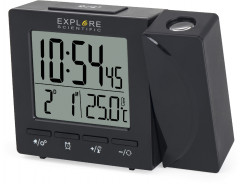 Проекционные часы Explore Scientific Projection RC Alarm Black (RDP1001CM3LC2)