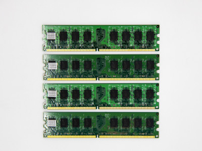 Оперативна пам'ять Micron DIMM 8Gb (4*2Gb) DDR2-800MHz PC2-6400 CL6 (CT25664AA800.M16FH) Refurbished