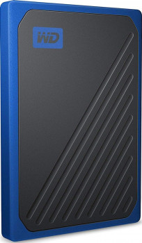 "Western Digital My Passport Go 2TB 2.5"" USB 3.0 Blue (WDBMCG0020BBT-WESN) External"