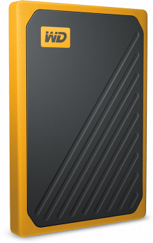 "Western Digital My Passport Go 2TB 2.5"" USB 3.0 Yellow (WDBMCG0020BYT-WESN) External"