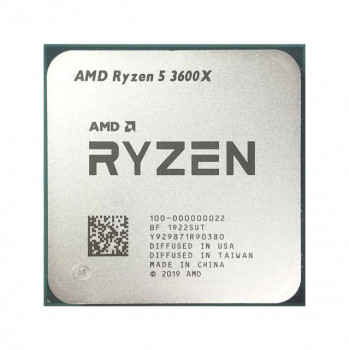 Процесcор AMD Ryzen 5 3600X (s.AM4) 6x3.8GHz Tray (100-000000022)