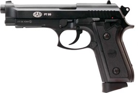 Пистолет пневматический SAS (Taurus PT99) Blowback. Корпус - металл (2370.14.28)
