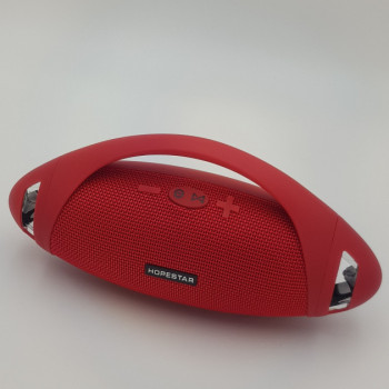 Колонка Портативная Bluetooth Hopestar Boombox Original 24 см Red (88SM150)