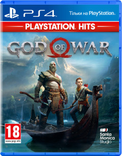 Игра God of War 2018 для PS4 (Blu-ray диск, Russian version)
