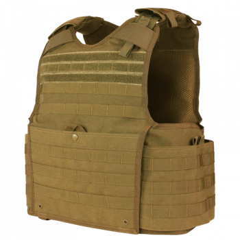 Бронежилет чехол молле Condor Enforcer Releasable Plate Carrier 201147 Coyote Brown