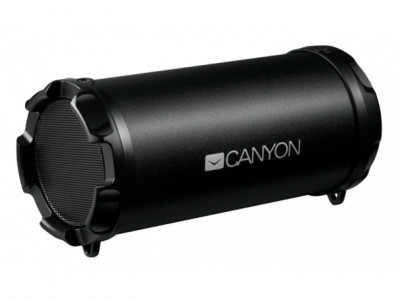 Акустична система CANYON Portable Bluetooth Speaker Black (CNE-CBTSP5)