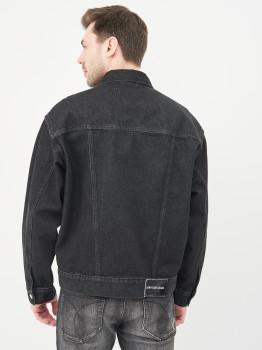 Джинсова куртка Calvin Klein Jeans Dad Denim Jacket J30J318076-1BY Denim Black