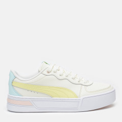 Кеди Puma Skye 37476409 38.5 (5.5) 24.5 см Whisper White-Yellow Pear-Blue Glow-Cloud Pink (4063697690943)