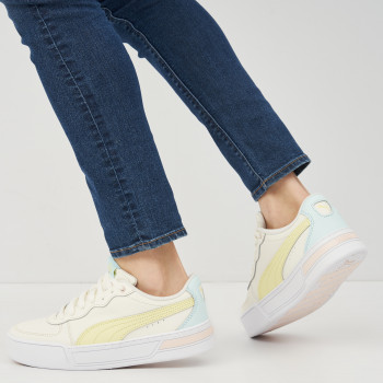 Кеди Puma Skye 37476409 Whisper White-Yellow Pear-Blue Glow-Cloud Pink