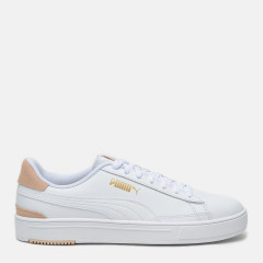 Кеди Puma Serve Pro 38018801 41 (7.5) 26.5 см Puma White-Puma White-Shifting Sand-Puma Team Gold (4063697576124)