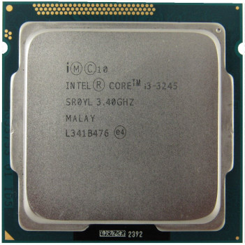 Процесор Intel Core i3-3245 3.40 GHz/3MB/5GT/s (SR0YL) s1155, tray