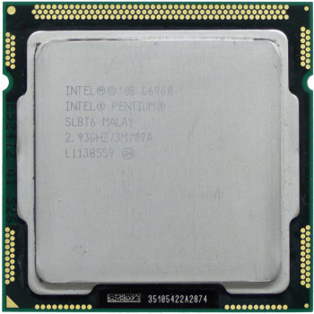 Процесор Intel Pentium Dual Core G6960 2.93 GHz/3MB/2.5 GT/s (SLBT6) s1156, tray