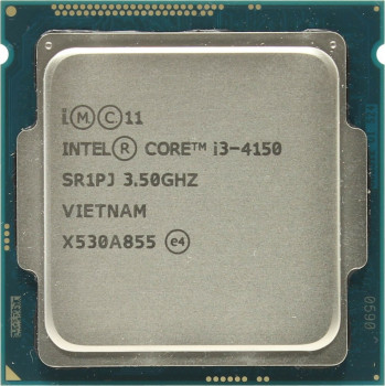 Процессор Intel Core i3-4150 3.5GHz/3MB/5GT/s (SR1PJ) s1150, tray