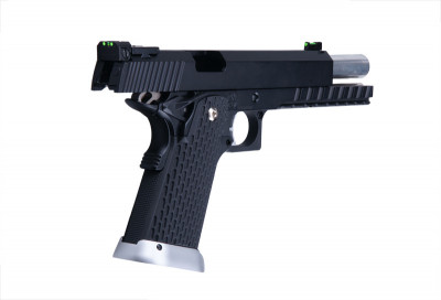 Пістолет KJW KP-06 Green Gas - Black