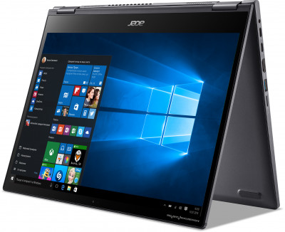 Ноутбук Acer Spin 5 SP513-55N-56VN (NX.A5PEU.008) Steel Gray